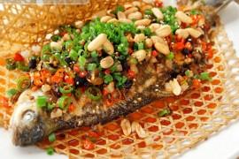 竹香烤鲫鱼的做法-杭州烤鱼培训