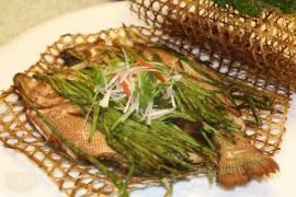竹夹鲈鱼的做法-杭州烤鱼培训