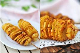 风琴土豆的做法[美美家的厨房]