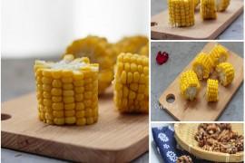 烤玉米的做法,烤核桃仁的做法[youhaha0的厨房]