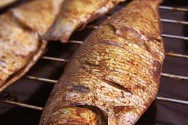 焦香烤鱼的做法[馨月vini]