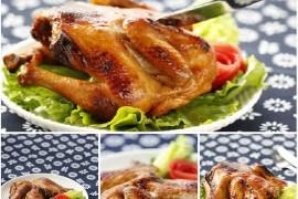 吊炉烤鸡的做法[斯佳丽WH]