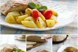 香烤土豆鲟鱼的做法[斯佳丽WH]