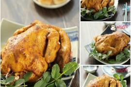 咖喱烤鸡的做法[斯佳丽WH]