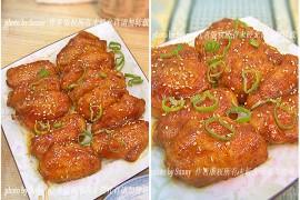 黑胡椒蜜汁烤翅的做法[馨月vini]