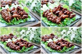 香辣烤牛肉串的做法