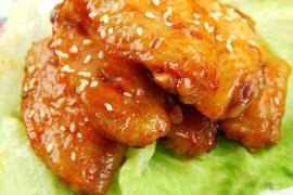 韩国泡菜糖桂花烤翅的做法大全_韩国泡菜糖桂花烤翅的家常做法怎么做好吃