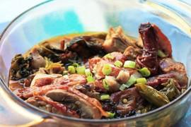 酸菜烤鸭的做法大全_酸菜烤鸭的家常做法怎么做好吃