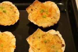 法式焗烤扇贝的做法大全_法式焗烤扇贝的家常做法怎么做好吃