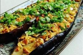 香蒜烤茄子的做法大全_香蒜烤茄子的家常做法怎么做好吃