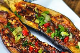 蒜香腊肉烤茄子的做法大全_蒜香腊肉烤茄子的家常做法怎么做好吃
