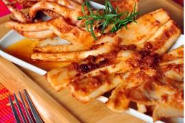 韩风煎烤鱿鱼的做法大全_韩风煎烤鱿鱼的家常做法怎么做好吃