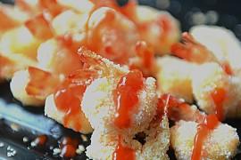 椰蓉烤虾的做法大全_椰蓉烤虾的家常做法怎么做好吃