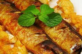 花菜烤秋刀鱼的做法大全_花菜烤秋刀鱼的家常做法怎么做好吃