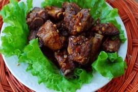 蒜香烤排骨的做法大全_蒜香烤排骨的家常做法怎么做好吃