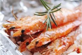 迷迭香海盐烤虾的做法大全_迷迭香海盐烤虾的家常做法怎么做好吃