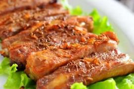 香辣烤排骨的做法大全_香辣烤排骨的家常做法怎么做好吃