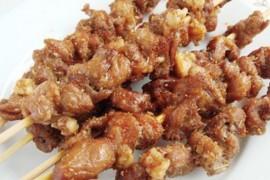 微波炉烤羊肉串的做法大全_微波炉烤羊肉串的家常做法怎么做好吃