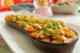 黑椒蒜香烤茄子的做法大全_黑椒蒜香烤茄子的家常做法怎么做好吃