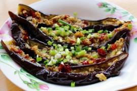 烤箱版香辣烤茄子的做法大全_烤箱版香辣烤茄子的家常做法怎么做好吃