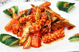 韩国辣酱烤鲜鱿鱼的做法大全_韩国辣酱烤鲜鱿鱼的家常做法怎么做好吃