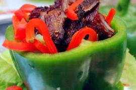 彩椒烤肉的做法_彩椒烤肉的家常做法大全怎么做好吃