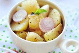 蒜味奶油烤土豆的做法_蒜味奶油烤土豆的家常做法大全怎么做好吃