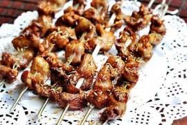 烧烤鸡心的做法_烧烤鸡心的家常做法大全怎么做好吃