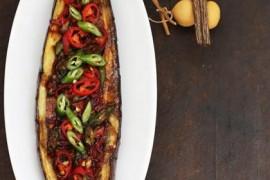 鲜椒烤茄子的做法_鲜椒烤茄子的家常做法大全怎么做好吃