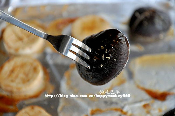 BBQ酱烤蘑菇