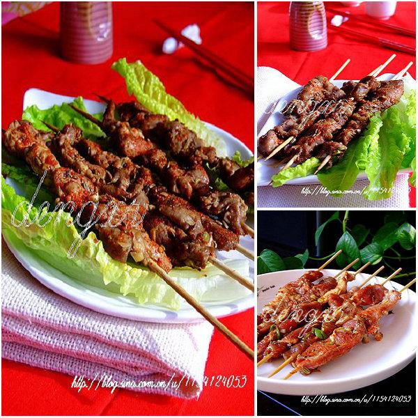 烤羊肉串儿的做法_烤羊肉串儿怎么做[灯芯绒]