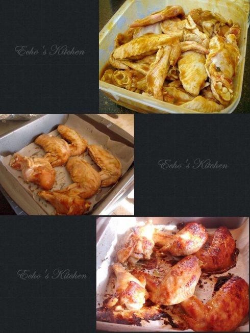 中式烤鸡翅的做法
