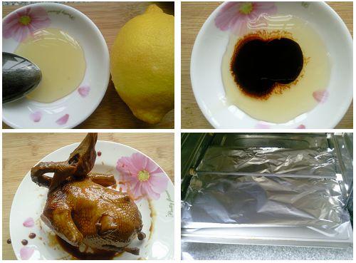 鲜美多汁的烤乳鸽的做法