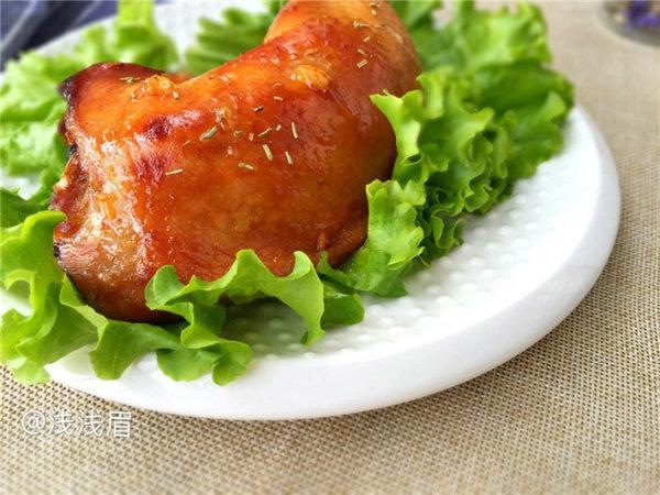 蜜汁烤鸡腿的做法
