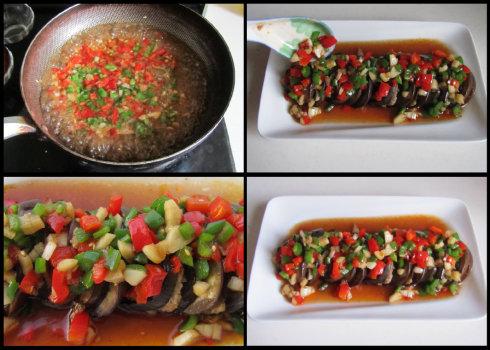 烤茄子的做法