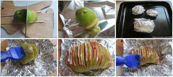 培根孜然烤土豆的做法