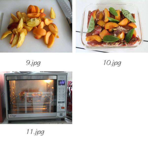 杏桃烤排骨的做法