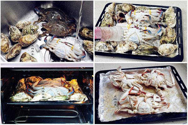 烤海鲜的做法