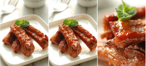 美式烤肋排的做法-只需两种酱料轻松搞定