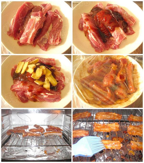 美式烤肋排的做法